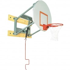 Bison Adjustable Height Steel Basketball Wall Shooting Station