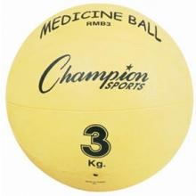 Champion 3 Kilo / 7 lb. Rubber Medicine Ball, RMB3