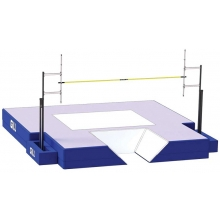 "Gill Essentials NFHS Pole Vault Landing Pit Valuepack, 19' 9""x20' 2""x26"", VP300"