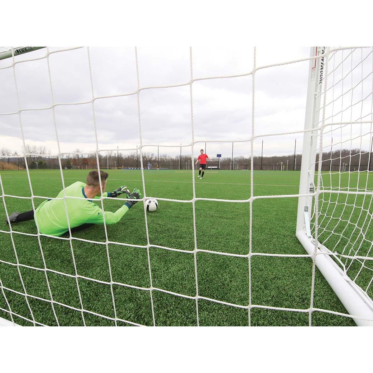 af574ff24 Kwik Goal 8'x24' Deluxe European Club Soccer Goal, 2B3006 - A12-545