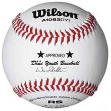 Wilson A1062BDY1 Dixie Youth Baseballs, dz