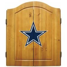 Dallas Cowboys NFL Dartboard Cabinet Set