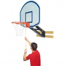 Bison QuickChange Graphite Basketball Wall Shooting Station