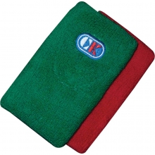 Cliff Keen Wrestling Wristbands, Red/Green