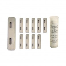 Cramer Zip-Cut Tape Cutter, REPLACEMENT BLADES (Pack of 10)