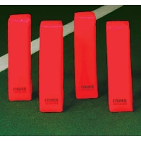 Fisher PY1 Deluxe Weighted End Zone Pylons, 3 lbs. each (set of 4)