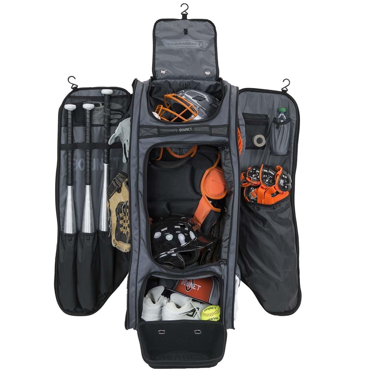 Bownet Commander Wheeled Catcher S Equipment Bag 38 X17