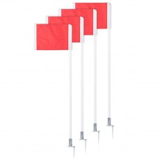 Champion SPRING LOADED Soccer Corner Flags, set of 4, SCF30