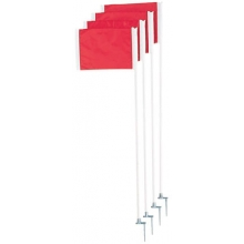 Champion Official Soccer Corner Flags, set of 4, SCF-20