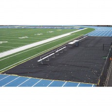 Aer-Flo Bench Zone Sideline Track Protector, 15' x 150'