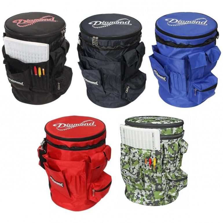 diamond baseball softball bucket sleeve camo ~ new