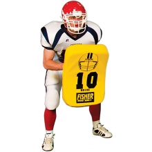 Fisher Curved Football Blocking Body Shield, HD100