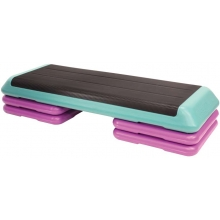 The Original Health Club Fitness Step, Teal/Purple