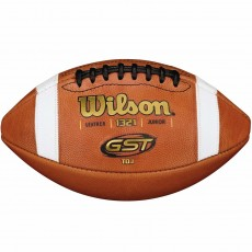 Wilson Pop Warner GST TDJ age 9-12 Official Leather Football