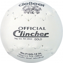 "deBeer 12"", 6/pk Clincher F12G Official Softballs"