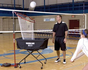 Colossal Volleyball Cart not included, see below