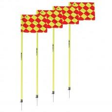 Kwik Goal Evolution Soccer Corner Flags, set of 4, 6B1204