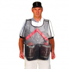 Fisher Football Ball Handler Vest, VEST2B