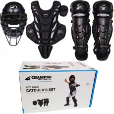 Champro Age 9-12 Hel Max Youth Catcher's Set, CBSY912B