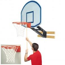 Bison QuickChange Graphite Basketball Wall Shooting Station