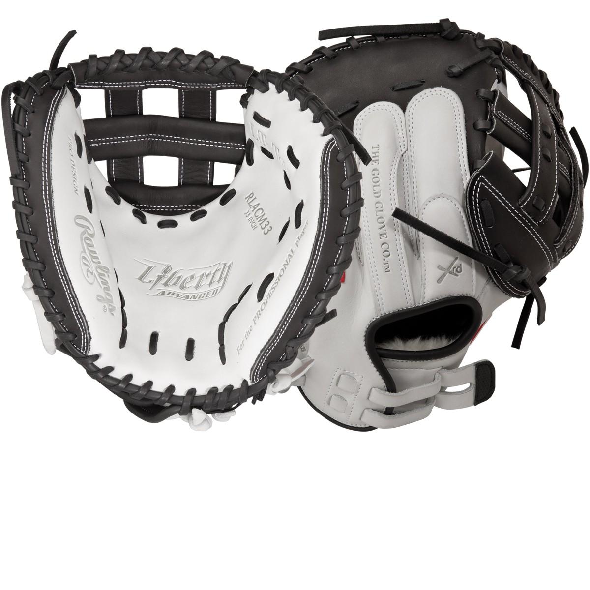 Rawlings RLACM33-3 0 Liberty Advanced Fastpitch Softball Catcher s Mitt 82b697e65