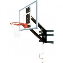 Bison Zip Crank Adjustable Basketball Wall Shooting Station