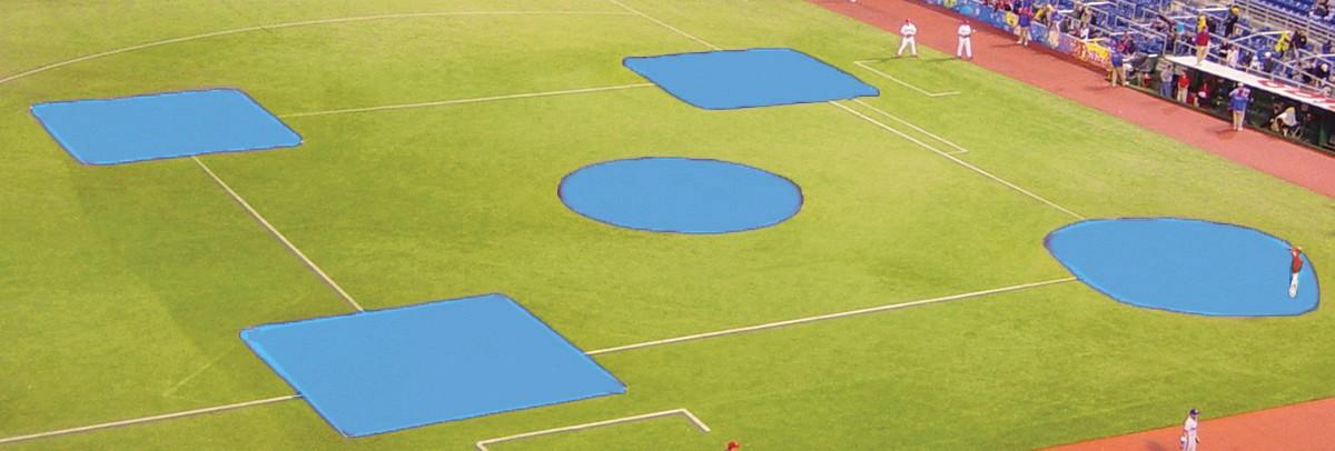 Fieldsaver Spot Baseball Softball Field Covers Youth