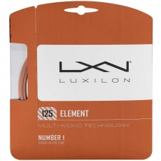 Luxilon Element 16L/1.25mm Tennis String, Bronze, 40'