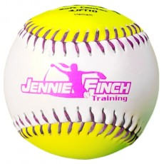 "Dudley 10"" Jennie Finch Soft Core Training Fastpitch Softballs, dz"