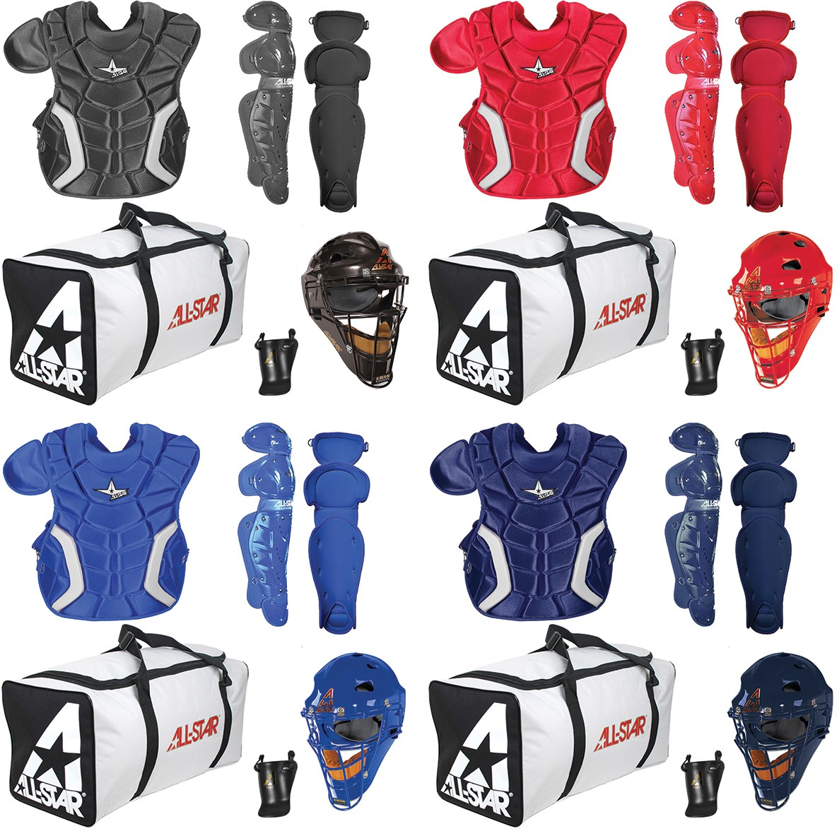 All-Star CK912PS Player s Series Catcher s Equipment Kit, YOUTH ages 9-12 3b4e6bbdbd