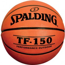 "Spalding TF-150 27.5"" Junior Rubber Basketball"