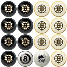 Boston Bruins NHL Home vs Away Billiard Ball Set