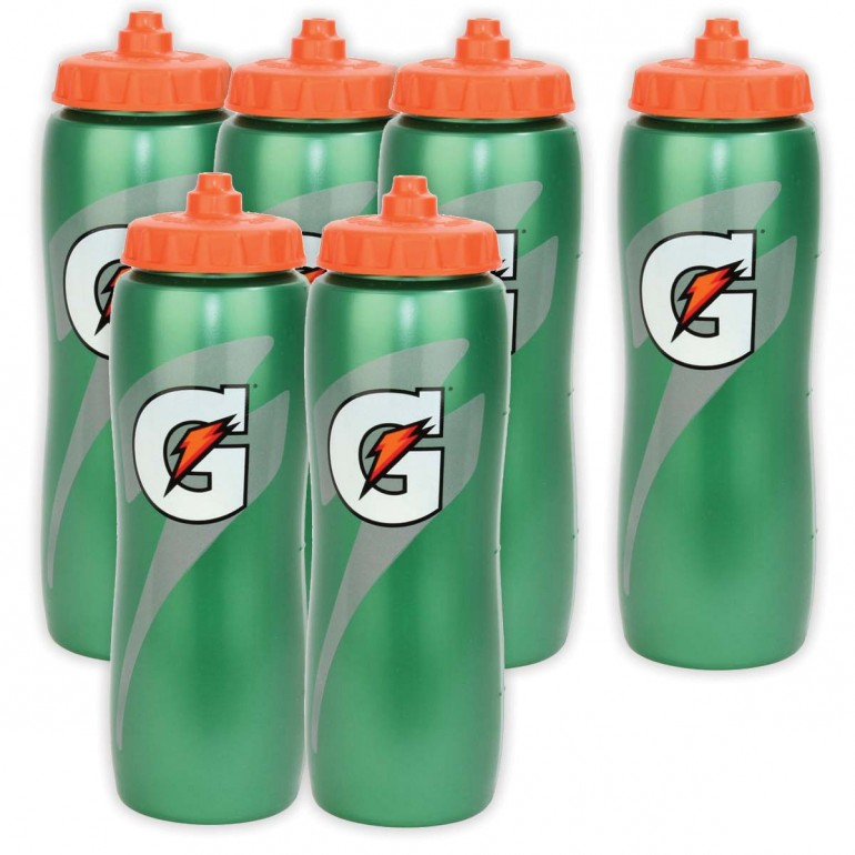 Gatorade Squeeze Bottles (Pack of 6)