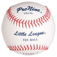 Pro Nine LVL1 LL Official Little League Level 1 Tee Balls, dz