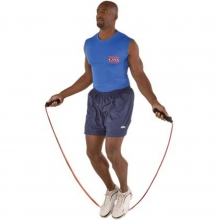 Power Systems 35799-1H-9F PowerRope Weighted Jump Rope, 9', 1/2 lb.