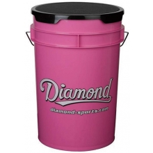 Diamond Pink Softball Bucket