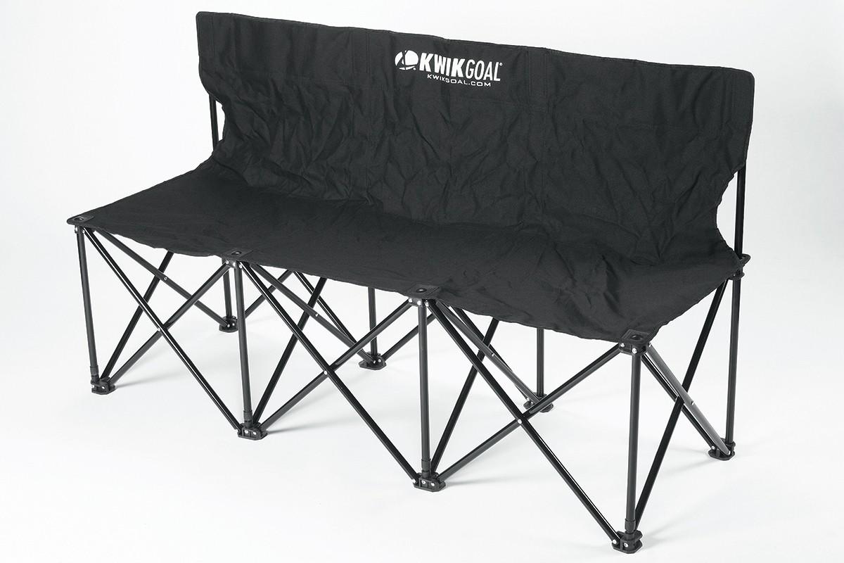 Kwik Goal 3 Seat Folding Soccer Bench 9b903 A07 243
