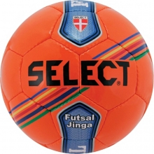 Select Jinga Futsal Ball, JUNIOR SIZE, Orange