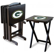 Green Bay Packers NFL TV Snack Tray/Table Set