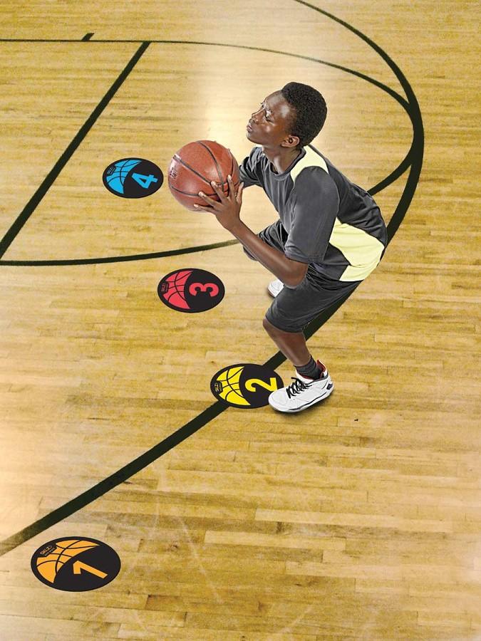 Sklz Shot Spotz Basketball Training Marker Set A85 115