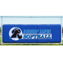 Cover Sports 3'H x 10'L Baseball/Softball Backstop Padding w/Graphics