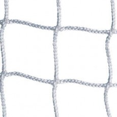 Kwik Goal 8' x 24' x 3' x 8' Official Soccer Nets, 3mm, WHITE, 0050AW (pr)