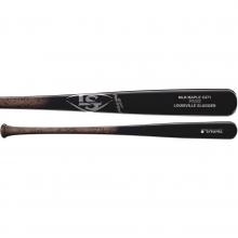 Louisville C271 Prime Miner Maple Wood Baseball Bat, Fade Black/Grey, WTLWPM271C17