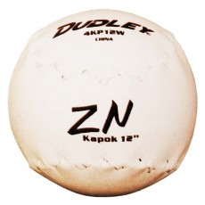 "Dudley 12"" Kapok Softballs, dz"