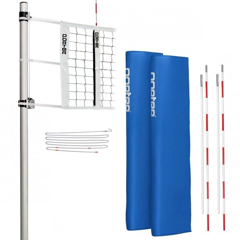 Porter Powr Rib Ii Standard Volleyball Net System Package A25 176 Anthem Sports