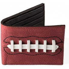 Authentic Leather Football Wallet