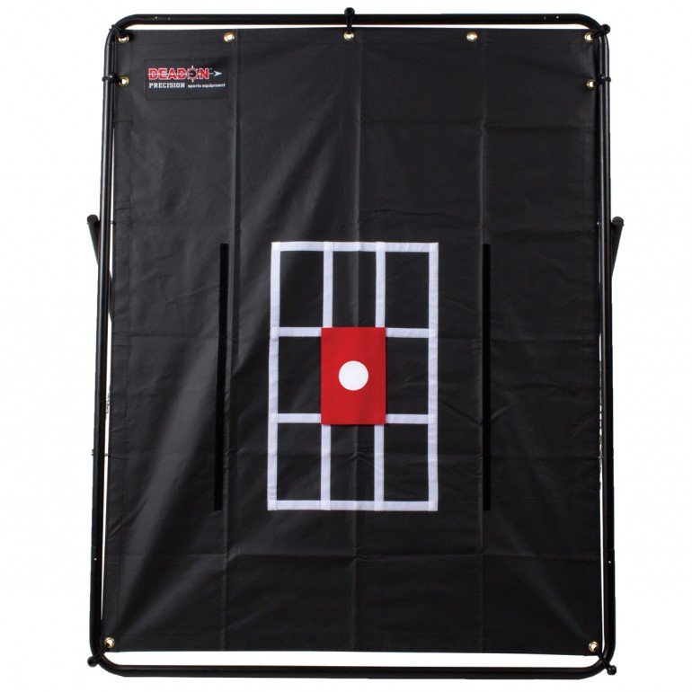 Red Target shown with Dead On Strike Zone Sheet and Frame (both sold separately)