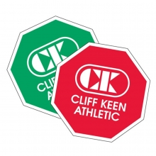 Cliff Keen Octagon Folkstyle Wrestling Flip Disc, Red/Green