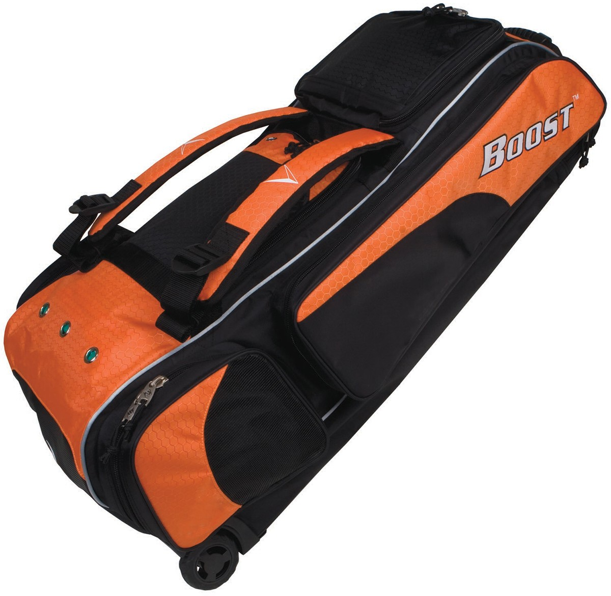 Diamond Boost Wheeled Baseball Softball Equipment Bag 35 L X 13 W 12 H