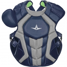 """AllStar System7 Axis NOCSAE Adult 16.5"""" Catcher's Chest Protector"""